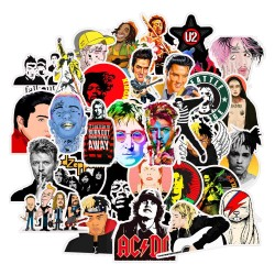 50st Pop Rock Legends Gadget Stickers Klistermärken Vinyl Återanvändbara Pop Rock Legends 50st Stickers GL 99,00 kr product_r...