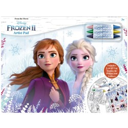 Disney Frozen 2 Artist Pad A3 Colouring Activity Book With Stickers