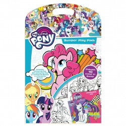 My Little Pony Bumper Play Pack Mini Tegningspude Med Farve Penne.