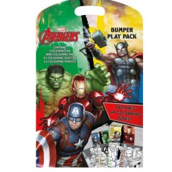 Avengers Bumper Play Pack Mini Drawing Travel Pack