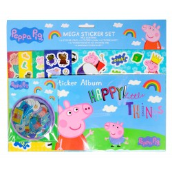 Peppa Pig Mega Sticker Set Children Tarroja
