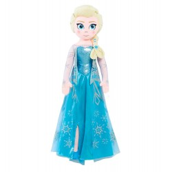 Frozen Elsa Jumbo 86cm Singing Doll Plush Large Plush Toy