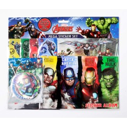 Avengers Mega Sticker Set Klistermärken Hulk Iron Man Thor Avengers Mega Sticker set Marvel 149,00 kr product_reduction_percent