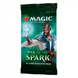 Magic The Gathering - War of the Spark Boosters 1-Pack 1-P War Of The Spark Magic The Gathering 59,00 kr