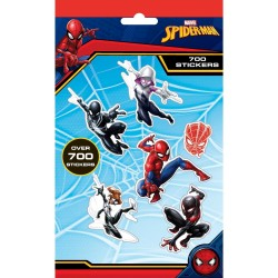 700st Spiderman Spindelmannen Stickers Set Klistermärken Spiderman Stickers 700st Spider-Man 79,00 kr product_reduction_percent