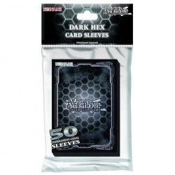 Yu-Gi-Oh! - Dark Hex Holographic - Standard Size 63x90 (50 Pack) Yu-Gi-Oh! Holographic Sleeves 74 Yu-Gi-Oh! 99,00 kr