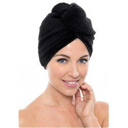 Towel Turban Microfiber BLACK