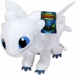 Dragons Light Fury Plysdyr Legetøj Plush Soft 35cm