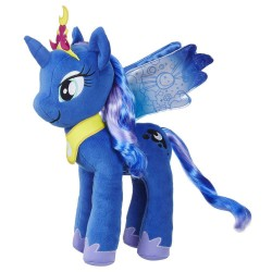 My Little Pony Princess Luna Unicorn Stort Gosedjur Mjukisdjur 36cm Blue Princess Luna Large Plush My Little Pony 399,00 kr ...