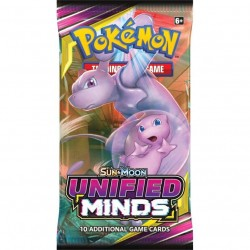 Pokemon - Sun & Moon 11 Unified Minds Booster Pack 1-Pack