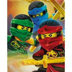 LEGO® Ninjago Ready Fleeceblanket Huopa Fleece Viltti 100x150cm