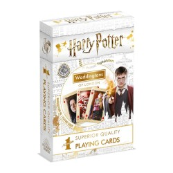 Waddingtons Playing Cards No. 1 - Harry Potter 2019 - White