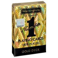 Waddingtons No. 1 GOLD Quality Playing Cards