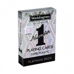 Waddingtons No. 1 PLATINUM - Quality Playing Cards