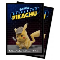 Ultra Pro Pokemon Detective Pikachu Deck Card sleeves 65-Pack.