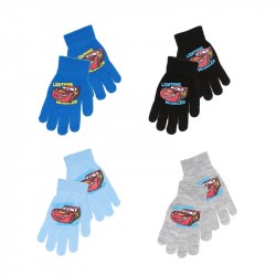 2-Pairs Disney Cars Lightning McQueen Mittens Gloves Children One Size