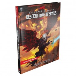 Dungeons & Dragons RPG Book - Baldur's Gate Descent into Avernus