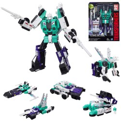 Transformers Leader Class 6in1 Generations Titans Return Six Shot