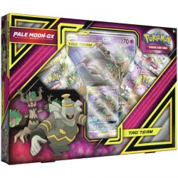 Pokemon TCG: Pokemon - Pale Moon-GX Box Card , Game