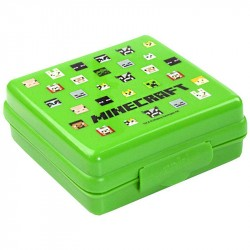 Minecraft Icons Sandwich Container Lunch Box