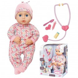 Baby Annabell Milly Feels Better Interactive Baby Doll 43cm