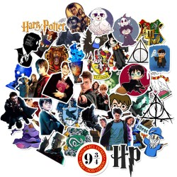 50st Harry Potter Gadget Stickers Klistermärken Återanvändbara Vinyl Harry Potter 50st Stickers GL 99,00 kr product_reductio...