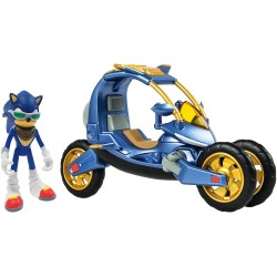 Sonic The Hedgehog Blue Force One Sonic Boom Action Figure & Vehicle Playset Sonic The Hedgehog Blue Force On Sonic 449,00 kr