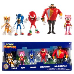 Sonic The Hedgehog 5-Pack Sonic Boom Multi-Figure Pack Action Figure