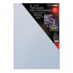 Ultra Pro 330 x 482 mm Toploader for Lithographs 10-Pack