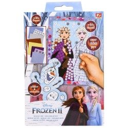 Disney Frozen 2 Mosaic Art Glitter & Metallic Over 500pcs
