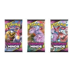 Pokemon - Sun & Moon 11 Unified Minds Booster Pack 3-Pack