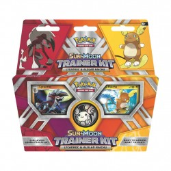 Pokemon - Lycanrocl & Alolan Raichu - Sun & Moon Trainer Kit
