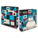 """Ultra Pro 2"""" Ring Binder for Pokémon Cards Featuring Snorlax"""