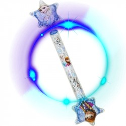 Disney Frozen Inflatable Light-Up Wand Oppustelig Stave Med LED 67cm
