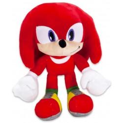 Sonic The Hedgehog Knuckles Plush Toy Pehmo 28cm