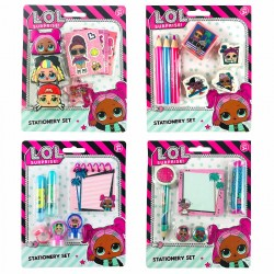 4-Pack L.O.L. Surprise! LOL Stationary Set 26 dele Penset