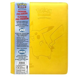 Ultra Pro Premium 9-Pockets Pikachu Binder 360 Cards