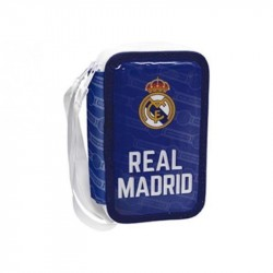Real Madrid 43-pieces Triple School Set Pencil Case