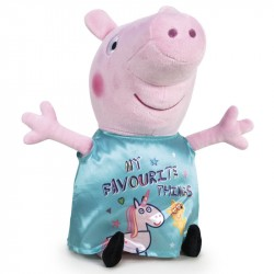 Peppa Pig Unicorn Large Plush Toy 45cm Turquoise