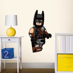 Lego Movie Batman Staticker Wall Decal Sticker Väggdekor 53x36cm Lego Movie Decals Batman Lego 149,00 kr product_reduction_pe...