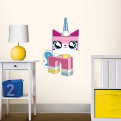 Lego Movie Unikitty Staticker Wall Decal Sticker Väggdekor ca53x36cm Lego Movie Decals Unikitty Lego 149,00 kr product_reduc...