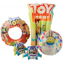 Disney Toy Story 3D Deluxe Swim Set Arm Bands, Lylo, Water Ring