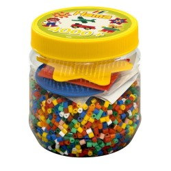 Hama Beads Midi 4,000 Beads and Pegboard Tub