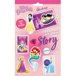 700st Disney Prinsessor Stickers Set Klistermärken Princess Stickers 700st Disney Princess 79,00 kr product_reduction_percent