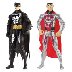 DC Comics 2-Pack Batman & Superman Steel Suit Action Figure 30cm Steel Suit Batman & Superman DC Comics 699,00 kr product_red...