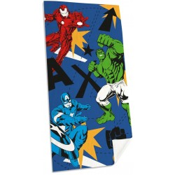 Marvel Avengers Comics 3 Heroes Kids Towel 150*75 cm