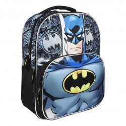 DC Comics Batman 3D Travel Backpack School Bag 41x31x12cm