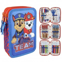 Paw Patrol One Team Penaaleita Triple School Set 3D Pencil Case