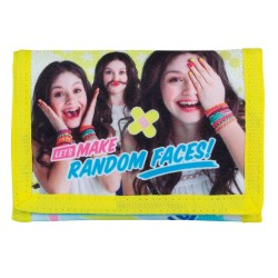 Disney Soy Luna Random Faces Wallet 9x13cm