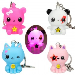 TOPModel MANGAModel Keychain With Light 4-Pack